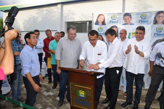 Wellington Dias inaugura Unidade Integrada de Segurança Pública em Elesbão Veloso