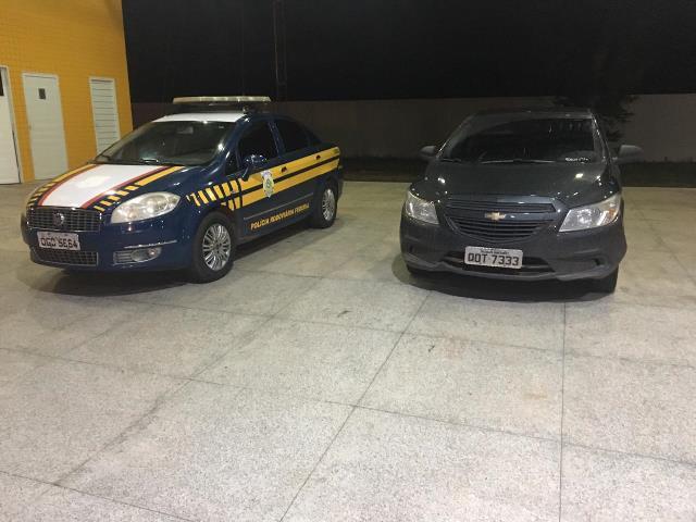 PRF recupera veículo com apropriação indébita em Valença do Piauí