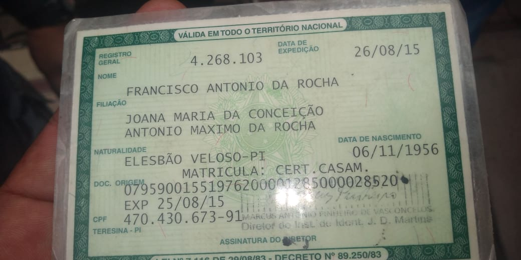 Idoso condenado por estupro em São Paulo é preso na casa de parentes no Piauí