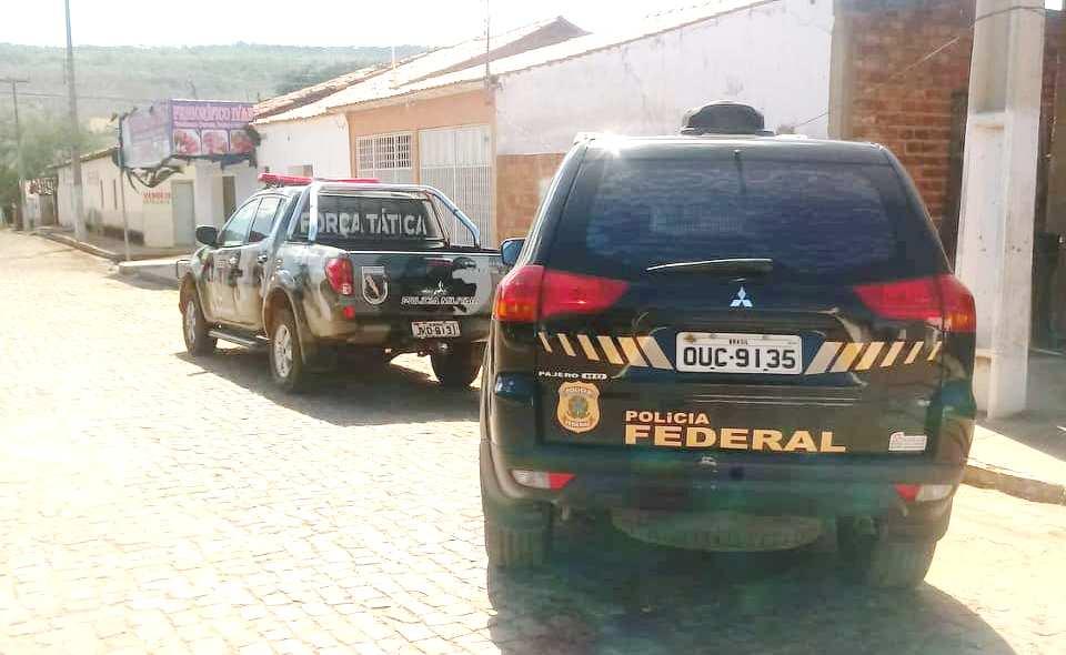 Ação da Polícia Federal e PM de Valença prende estrangeiro na cidade de Aroazes