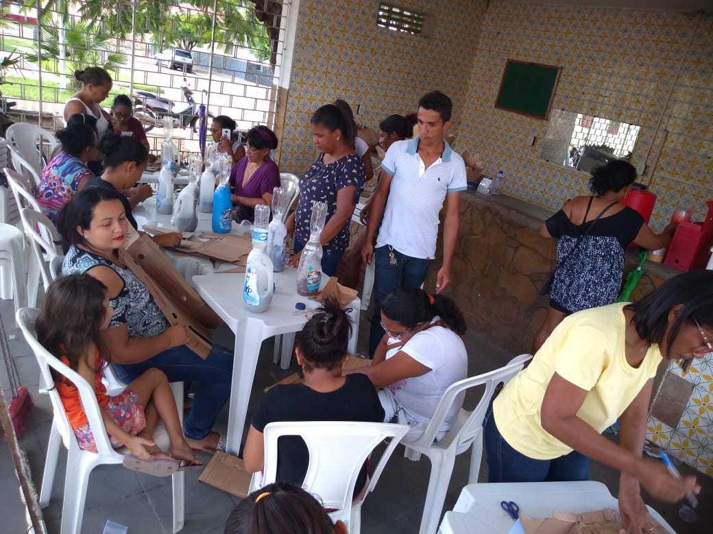 Projeto Reciclart é desenvolvido e promovido em Valença do Piauí