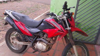 Polícia Militar recupera moto furtada na cidade de Novo Oriente (PI)