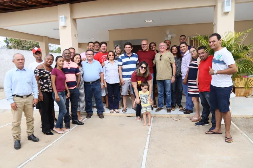 Marllos Sampaio na oposição em Valença do Piauí