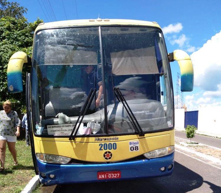 Polícia apreende em ônibus 2 Kg de pasta base de cocaína que tinha com destino Valença do Piauí