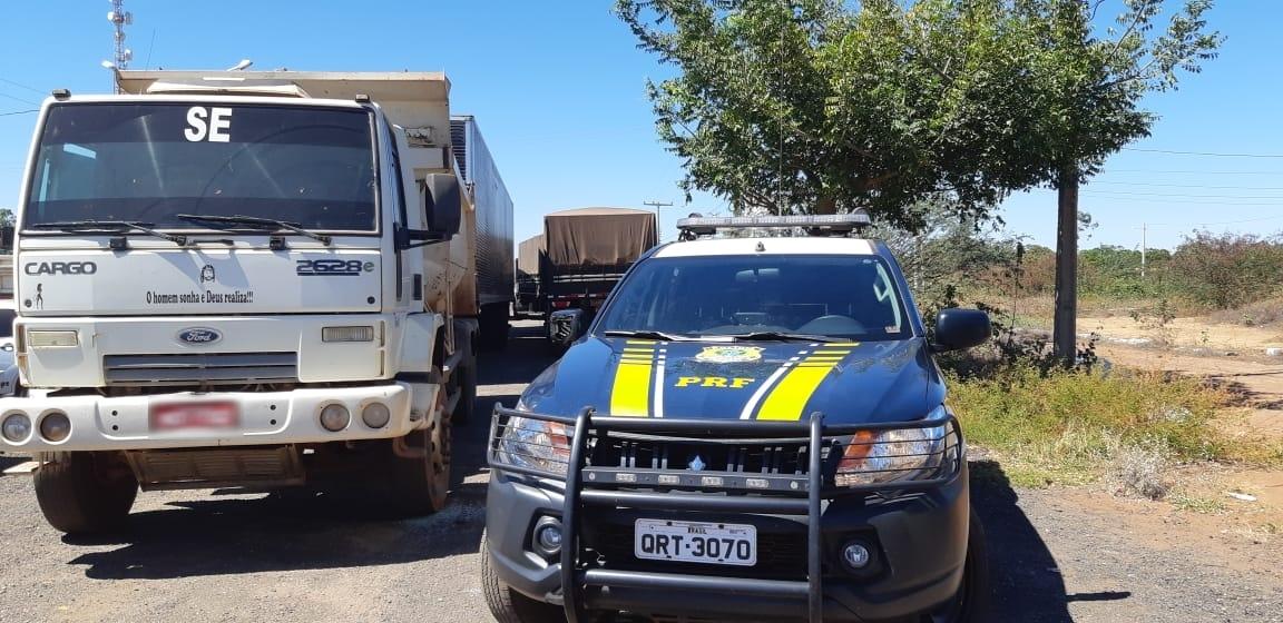 PRF prende condutor que apresentou documento falso na BR-316 em Picos