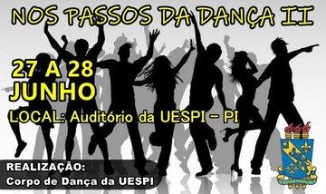 Corpo de Dança da Uespi de Picos promove espetáculos nos dias 27 e 28 de junho