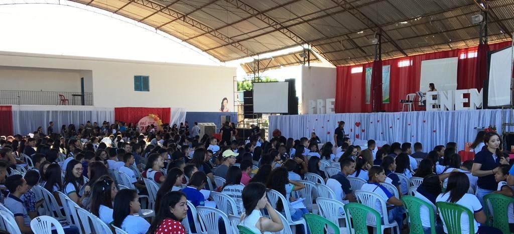 Seduc realizou revisão do Pré-Enem em Valença do Piauí