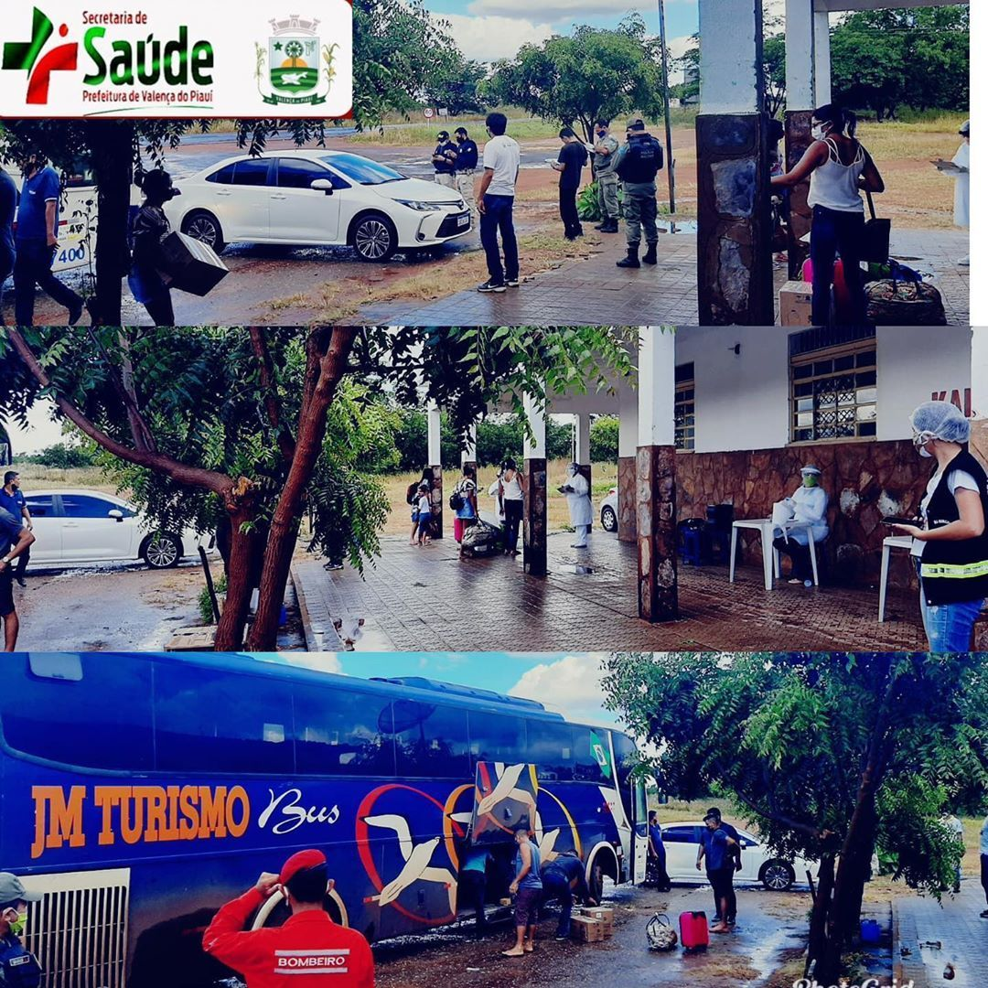 Coronavírus: Prefeitura de Valença (PI) realiza mais uma barreira sanitária na entrada da cidade