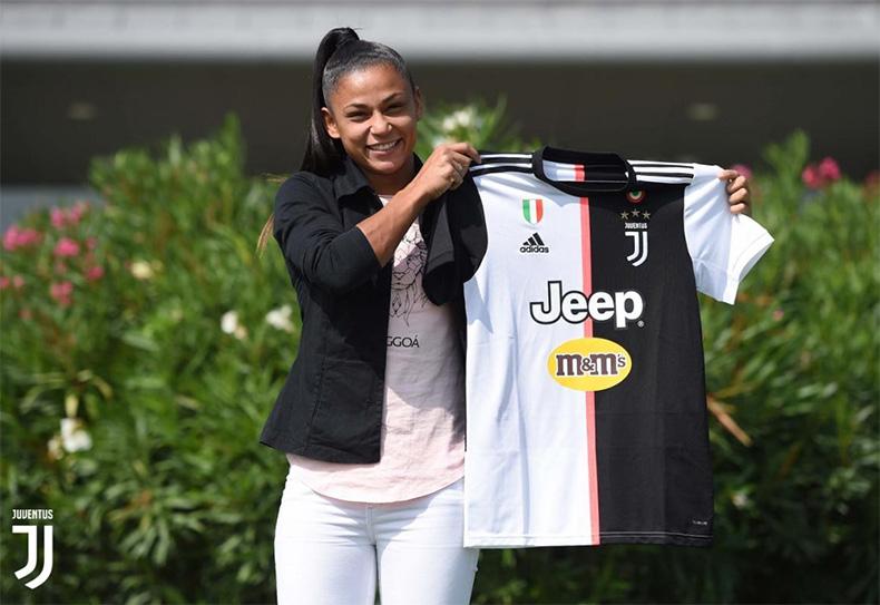 Jogadora piauiense assina contrato com Juventus da Itália