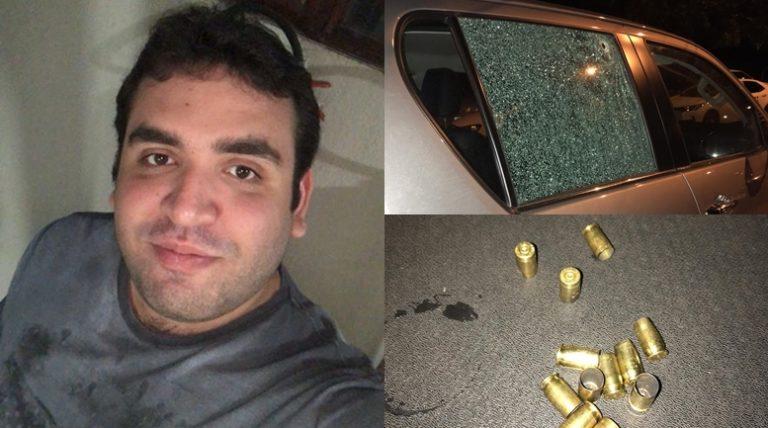 Filho de prefeito de Elesbão Veloso tem carro perfurado por tiros