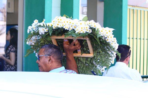 Corpo de oficial de justiça do TJ-PI é sepultado em cidade da região de Valença