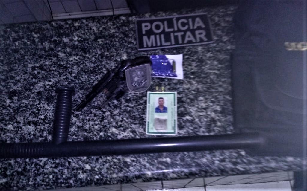Vigilante é preso por tentativa de homicídio em praça da cidade de Inhuma