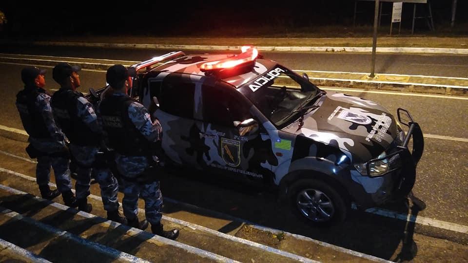 Força Tática e GPM de Inhuma prendem acusado por tráfico de drogas
