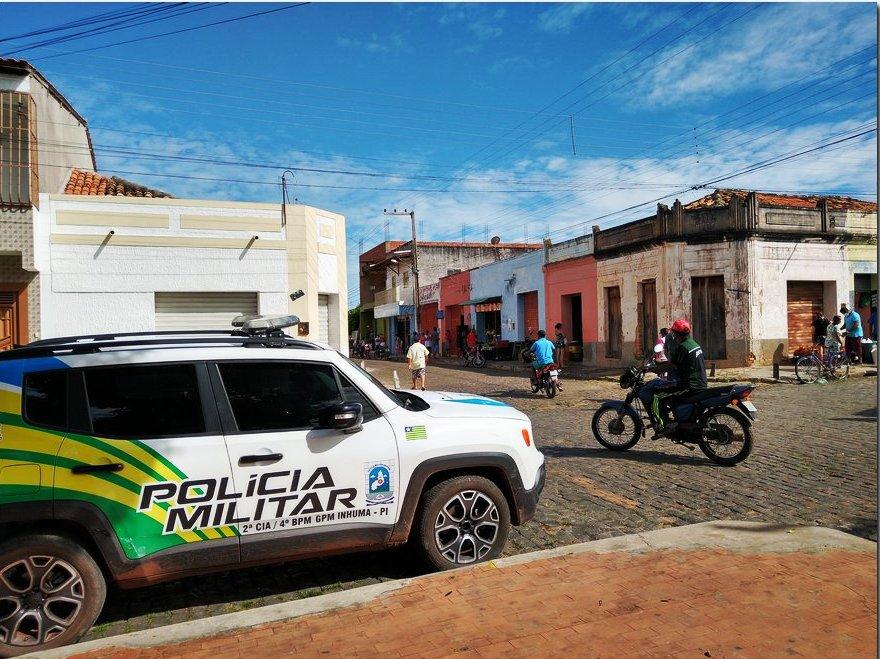 GPM de Inhuma realiza Operação em Valença do Piauí e lavra TCOs