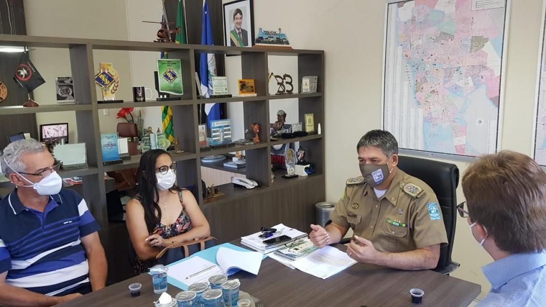 Comando Geral da PM-PI firma convênio com municípios da região de Valença