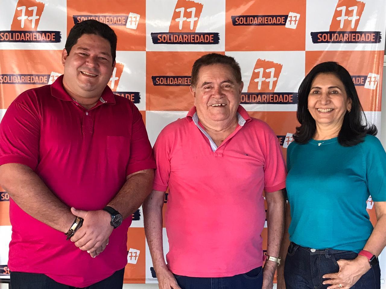 Em Valença, Ceiça Dias consegue apoio do ex-prefeito Dr.Alcântara