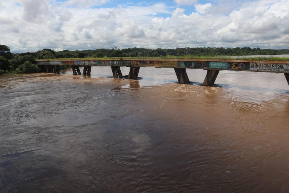 Rio Poti em Prata do Piauí registra volume acima do esperado