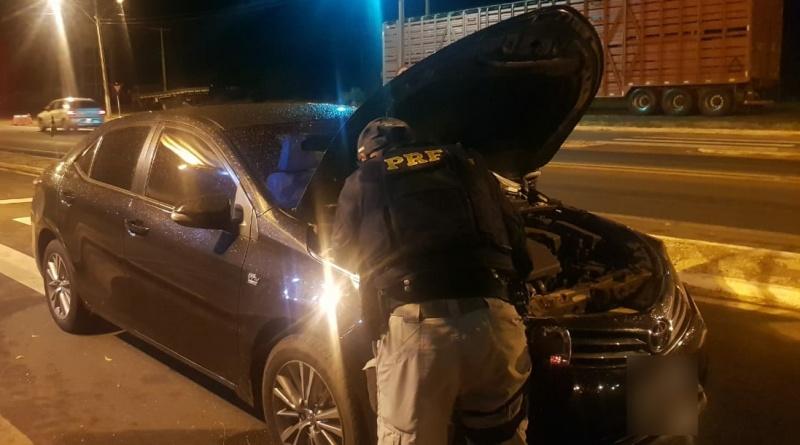 PRF apreende veículo de luxo obtido através de estelionato em Picos