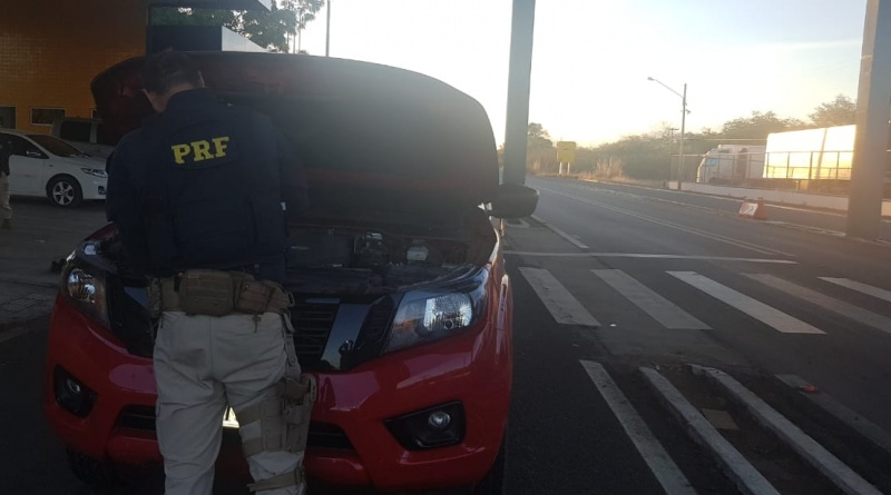PRF prende duas pessoas acusadas de receptação na BR 316 em Valença
