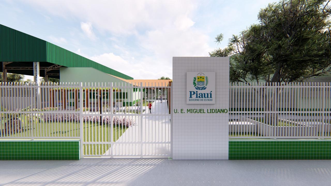 Governador visita reforma de escola e autoriza obras na educação de Picos e região
