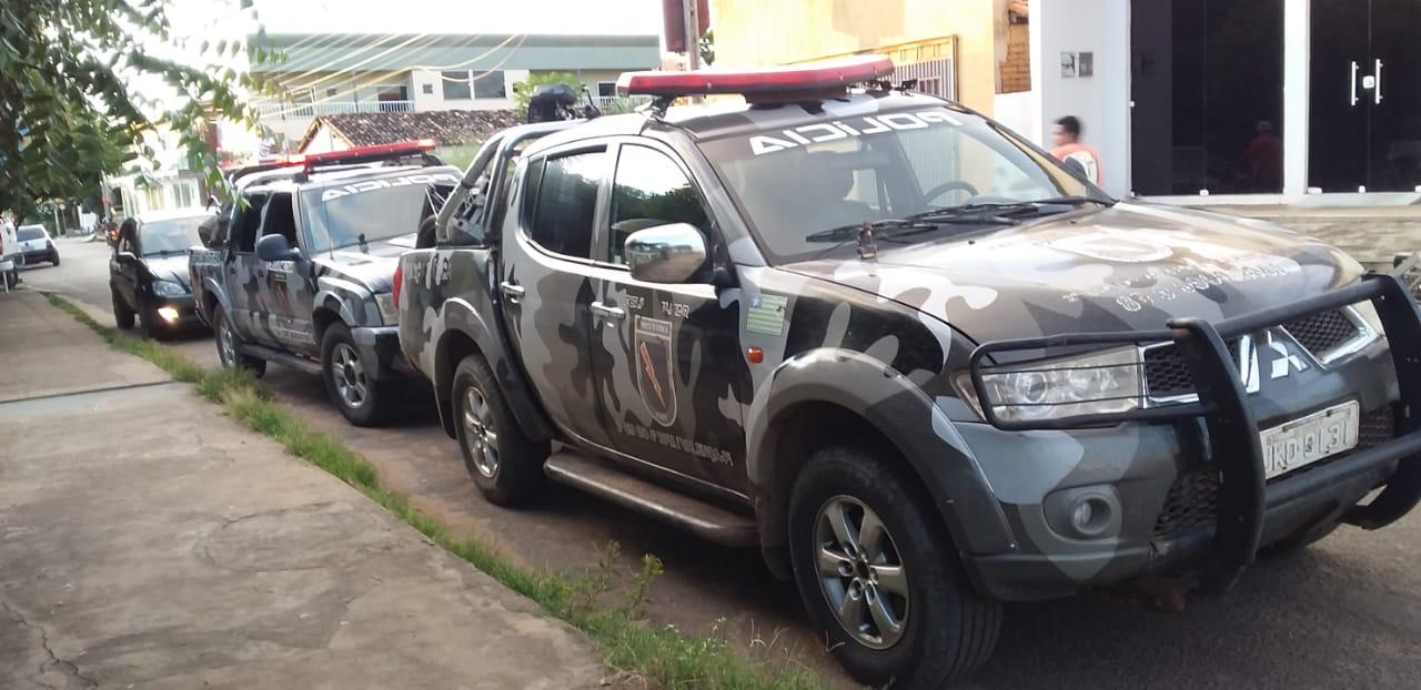Força Tática prende suspeito de tentativa de homicídio em Valença