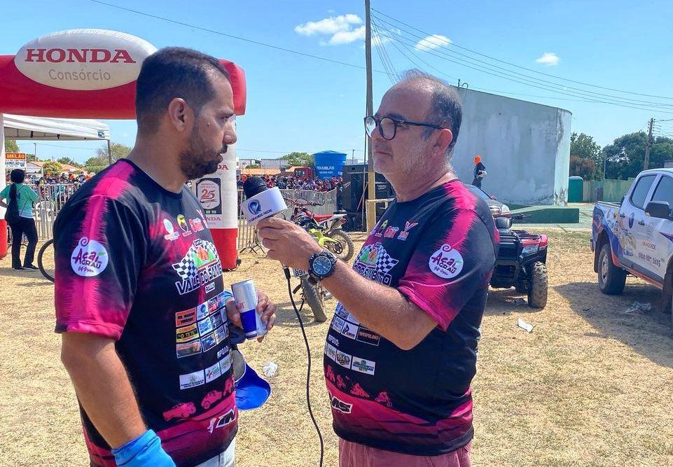 TV Grande Rede faz cobertura da 4ª edição do Rally Vale do Sambito em Valença, PI