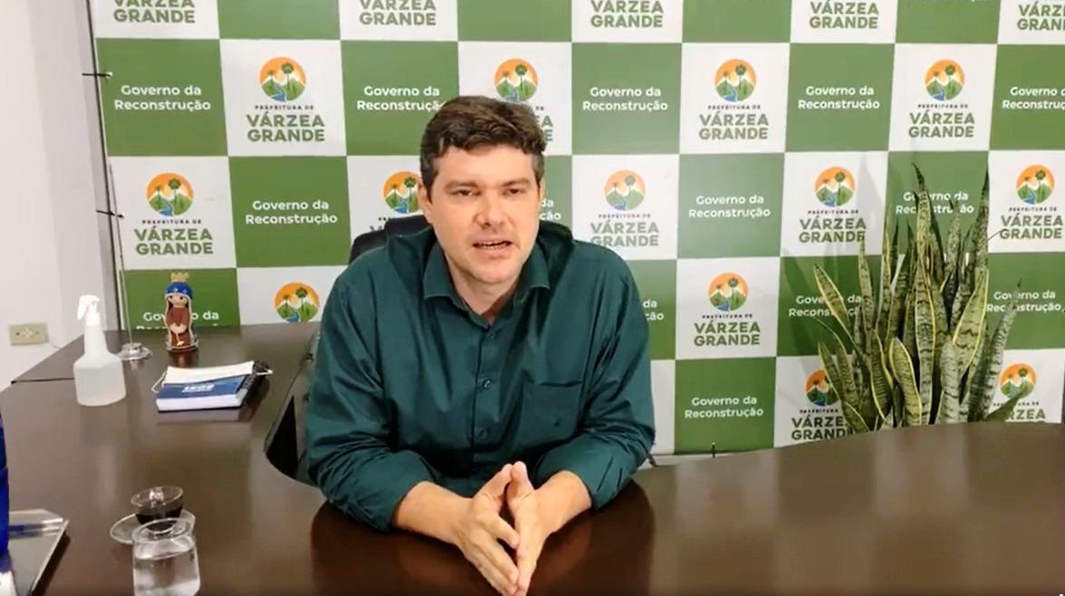 Prefeito Robert Eudes decreta situação de emergência em Várzea Grande