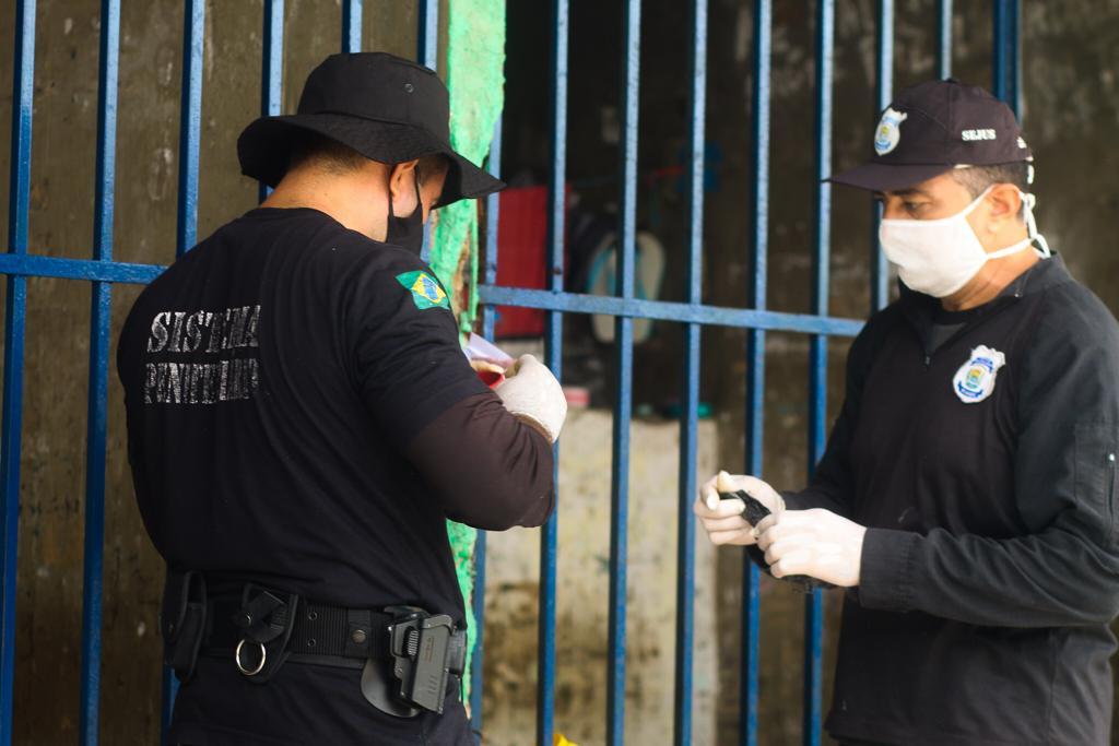 Polícia Penal faz vistoria e retira ilícitos da Penitenciária de Picos