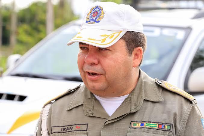 Tenente-coronel Iran Moura é internado na UTI após sofrer princípio de infarto